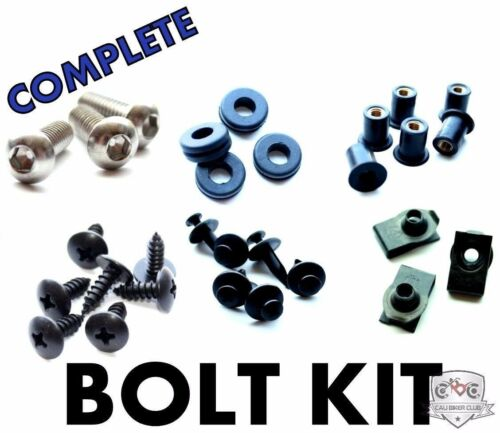 Complete Fairing Bolt Kit Body Stainless Screws for Honda RVT1000R//RC51 00-07