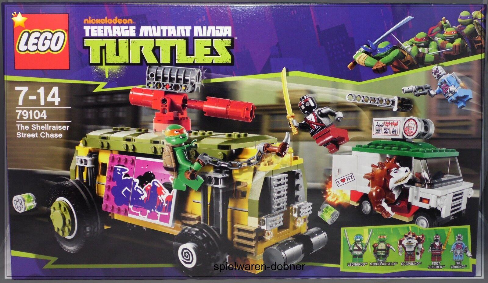 LEGO 79104 tenage MUTANTE TARTARUGHE NINJA THE SHELLRAISER Street CHASE NUOVO