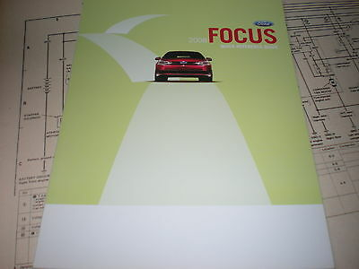 ford focus factory quick reference owners manual