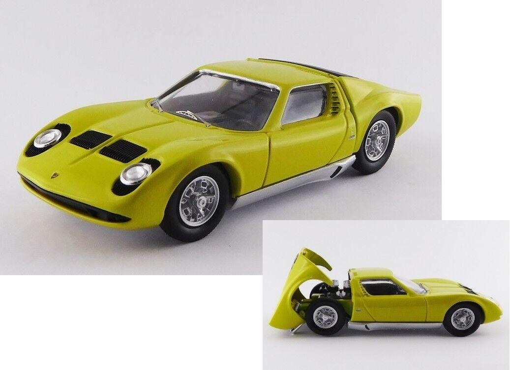 Lamborghini miura p400s bertone green miura 1966 1 43 rio
