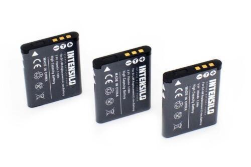 Batería 3x intensilo 700mAh para Toshiba Camileo SX500//SX-500//SX900