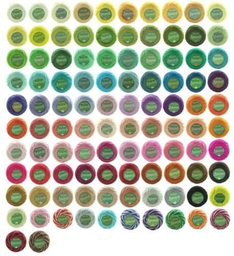 5 X 65 millones de Aquarelle Perle # 12 Bordado Fantasia De Hilo-envíenme un correo electrónico los códigos de color