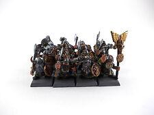 16 x Zwergenkrieger - Klankrieger der Zwerge / Warhammer Fantasy - gut bemalt