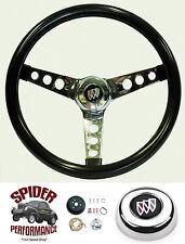 """1969-1972 Wildcat GS Skylark Lesabre steering wheel GLOSSY GRIP 13 1/2"""" Grant"""