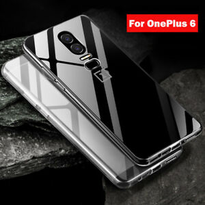 sale retailer 38814 9eff3 Details about For OnePlus 6 Case Crystal Clear Ultra Thin Soft TPU  Shockproof Slim Cover Skin