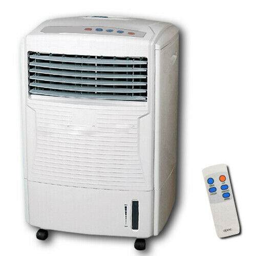 AIR COOLER AND REMOTE CONTROL COLD HUMIDIFYING FAN TIMER EVAPORATOR WATER TANK