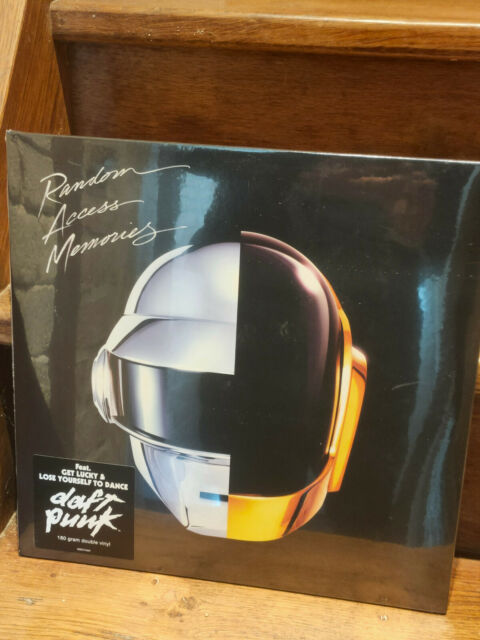 Daft Punk Random Access Memories 2x Vinyl 180g Sealed NEW / scellé / filmé