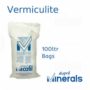 Details about Vermiculite | Loose Fill Insulation | Construction grade |  Gardening | 100L