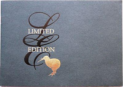 Neuseeland 2000 1873-79 1688-94 Limited Edition Booklet Endangered Birds Vögel Australien, Ozean. & Antarktis