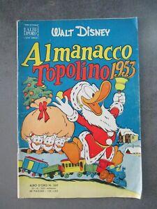 ALMANACCO TOPOLINO 1953 - ALBO D'ORO 369 - WALT DISNEY MONDADORI