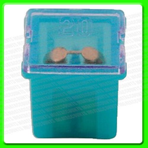 * Pack of 6 30482 12V 20A Blue Short PAL Slow Blow Mini Fuse