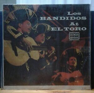 GB LP VINYL RECORD Los Bandidos at El Toro 1959 (open)