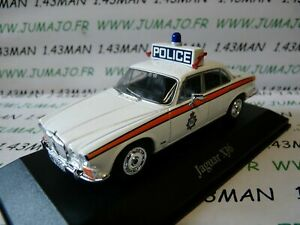 PUK7-voiture-1-43-CORGI-ATLAS-POLICE-CARS-JAGUAR-XJ6-west-Yorkshire