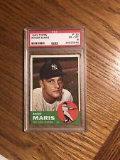 1963 Topps Roger Maris New York Yankees #120 Baseball Card
