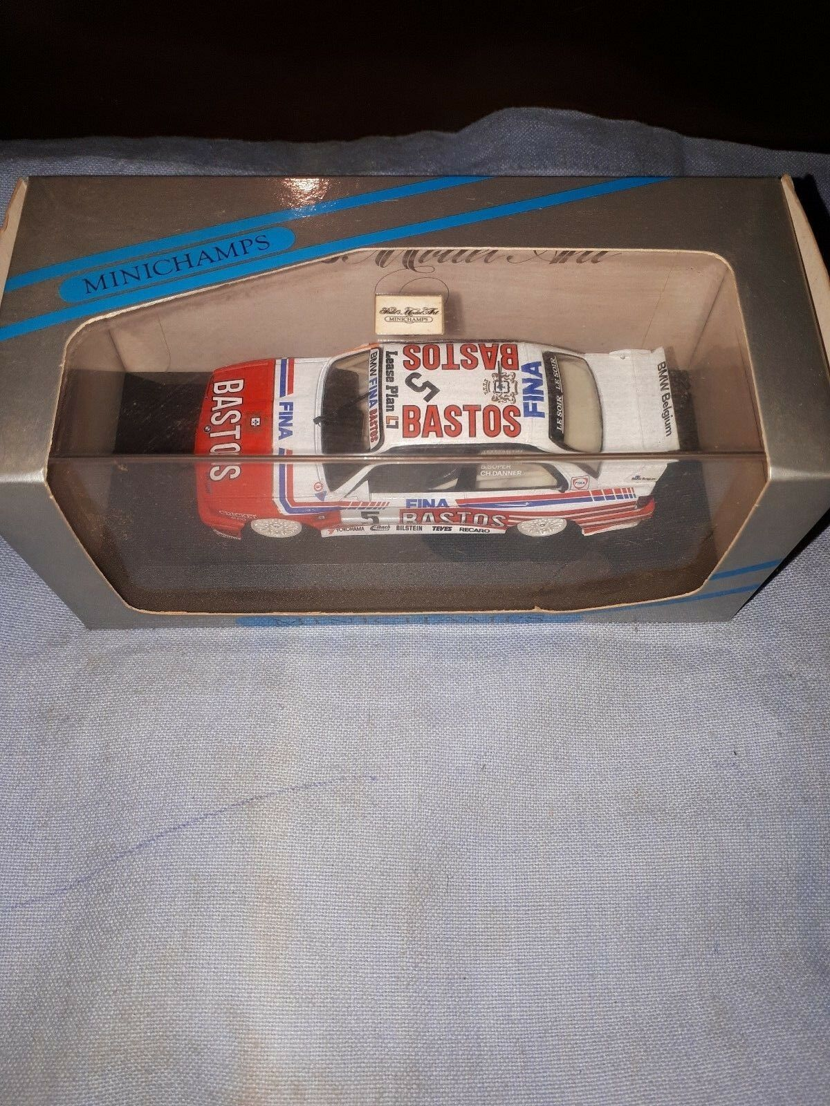 MINICHAMPS BMW M3 BASTOS `92 DANNER SOPER MARTIN  1 43 NEU  | Um Sowohl Die Qualität Der Zähigkeit Und Härte