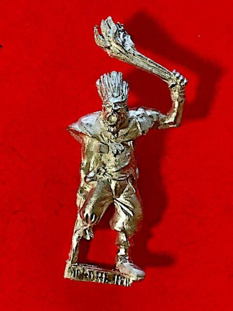 Warhammer Mordheim Frenzied Mob One Leg/Witch Hunter Villager 2 OOP Metal