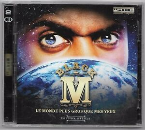 DOUBLE-CD-RAP-FRANCAIS-BLACK-M-LE-MONDE-PLUS-GROS-QUE-MES-YEUX-WATI-B