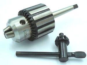 Qualita-Drill-Chuck-1-13-mm-con-1-MT-Arbor-perforatrice-tornio-ecc