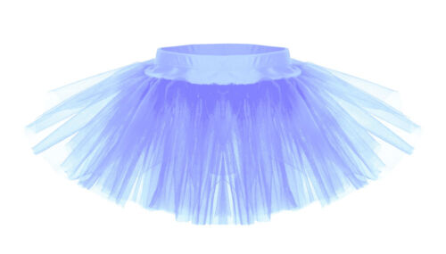Pink,Black,Purple,Blue,Red,Orange,Green,White,Yellow Childs Tutu Skirt All Ages