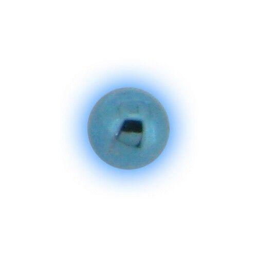 TITANIO Labret Bola 1.2mm 16g Repuesto Piercing Cejas Seleccionar Color Tamaño 3mm 4mm