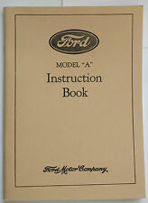 New 1930 Ford Model A Car Instruction Manual Owners Guide Operator Book