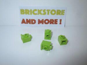 Lego 4x Brique Brick Modified 1x2x1 x1//3 curved vert citron//lime 6091 NEUF