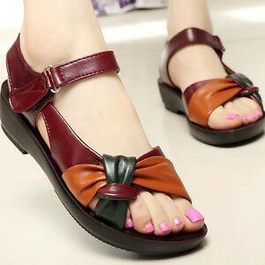 Women's Comfort Ladies Shoes Leather