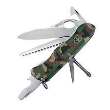 NEW VICTORINOX SWISS ARMY ONE HAND TREKKER CAMO NS 54878