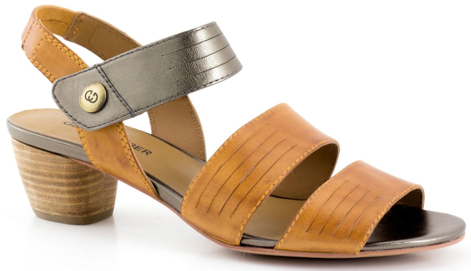 Ladies Slingback Sandal Gerry Weber Jenifer 03 Cognac EU EU EU Size 37, 38, 39 8aa1c3
