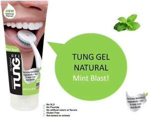 TUNG Gel Mint Blast Includes NATURAL Ingredients The Original Tongue Cleaner 85g