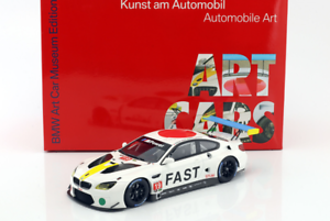 Genuine BMW M6 GTLM 1 18 Scale Art Car John Baldessai 80 43 2 447 953