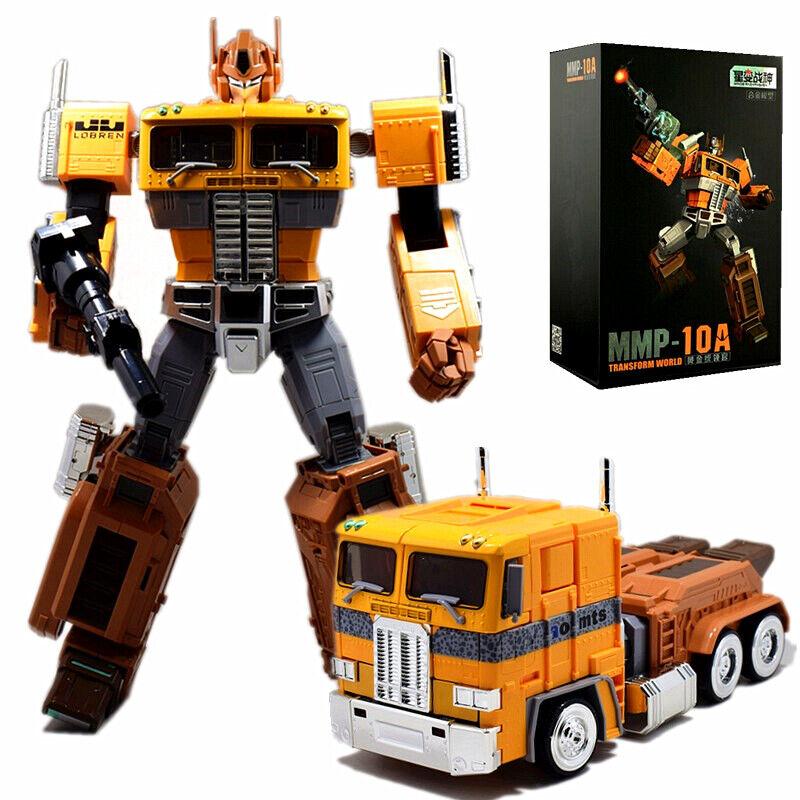 Trasformatori di grandi dimensioni MMP10A G1 OPTIMUS PRIME Action Figure 13 Toy Giallo