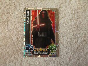 Topps-Star-Wars-Force-Attax-034-KYLO-REN-034-207-Power-Boost-Card