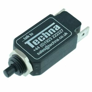 TR11CX08S6 Techna 8A Miniature Mini Thermal Circuit Breaker High Quality