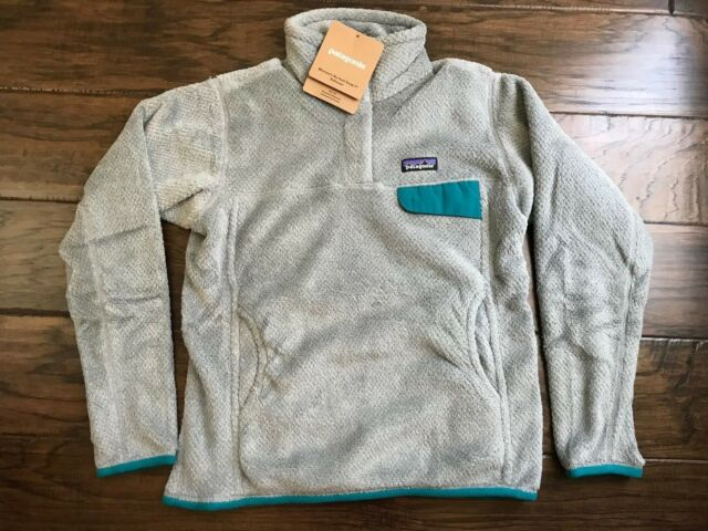 5d804228 2017 Patagonia Womens Re-tool Snap T Fleece Pullover Jacket Small S