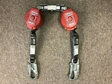 Pair Miller Turbo Lite Personal Fall Limiter With Twin Turbo D Ring Connector