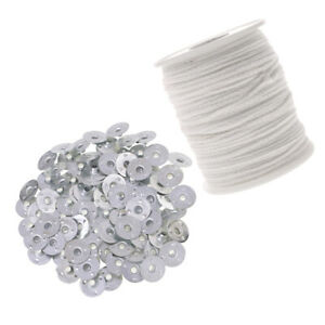 200Pcs-Candle-Wicks-Cotton-Core-Candle-Making-Supplies-Metal-Tabs-Sustainers