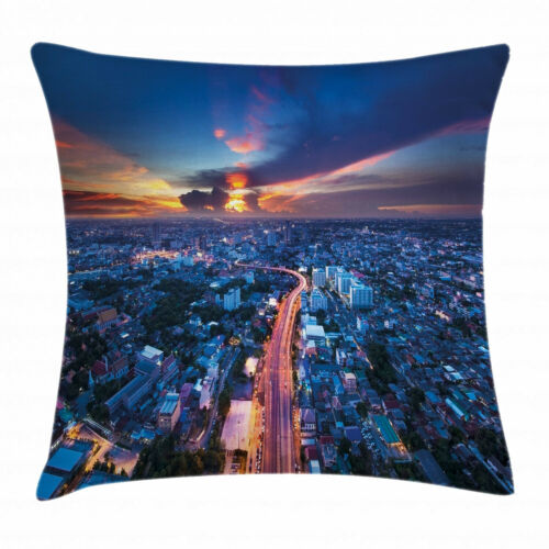 City Vibes Throw Pillow Cases Cushion Covers Home Decor 8 Sizes