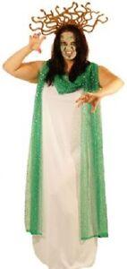 Halloween-Spaventoso-Male-IL MITO-LEGENDA-Greco-Costume Medusa Costume Da Donna Taglie