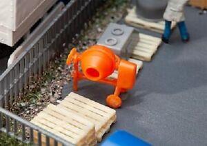 Faller-180967-Gauge-H0-Cement-Mixer-New-Original-Packaging