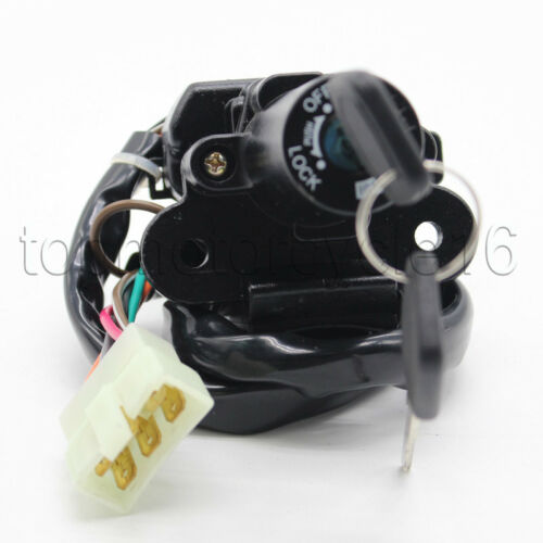 600cc Aikeec 6Wires 6Pins Ignition Switch lock For Kawasaki ZX-6R 98 ZX600G1