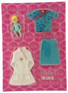Barbie Docteur Outfit-barbie Vous Pouvez être... Un Children's Médecin + Magazine #5-afficher Le Titre D'origine Pour RéDuire Le Poids Corporel Et Prolonger La Vie