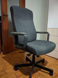 Poltrona Da Ufficio Ikea Malkolm In Tessuto In Ottime Condizioni Ebay
