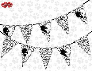 Paw-Print-Kitten-Love-Black-and-White-Theme-Bunting-Banner-party-by-PARTY-DECOR