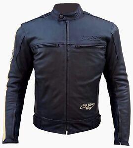 Giacca Moto Naked Custom Pelle Vintage Moto Harley