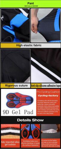 Winter Men Fleece Thermal Cycling Jersey Bib Pant Set Warmer Cycling Jersey Suit