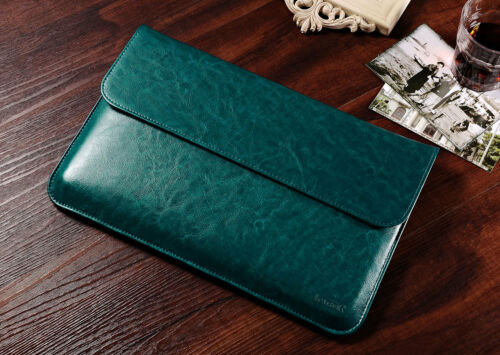 ICARER Luxury Leather Case Bag Cover Sleeve Pouch For Macbook Air Pro 11/'/' 13/'/'