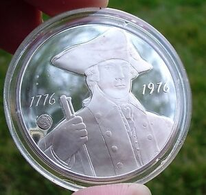 NEW-YORK-Official-Sterling-Silver-Bicentennial-PROOF-Medal