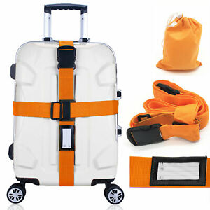 Heavy-Duty-Adjustable-Luggage-Strap-Long-Cross-Travel-Suitcase-Packing-Belt