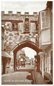 The-Gate-amp-High-Street-Salisbury-Valentine-039-s-034-Photo-Brown-034-22147